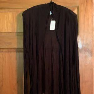 NWT. Cardigan/kimono.  Short sleeved